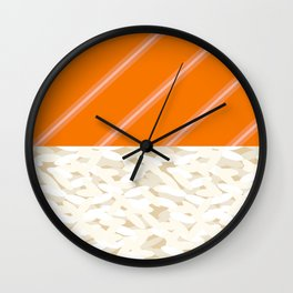 Salmon Sushi - the Yummy Collection Wall Clock