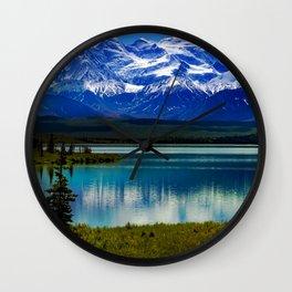 Denali National Park 1 Wall Clock