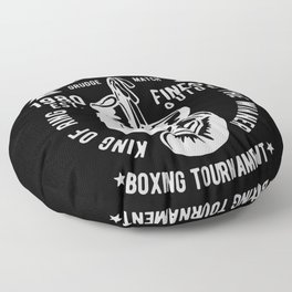 fighting club heavy weight unification Floor Pillow