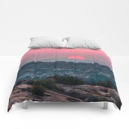Otherworldly sunrise of Hampi, India Comforters