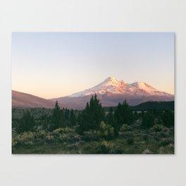 Mt. Shasta at Sunset Canvas Print