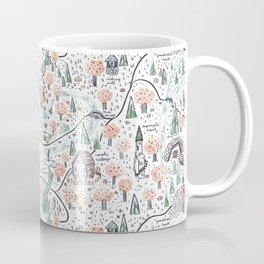 Enchanted Forest Map Coffee Mug