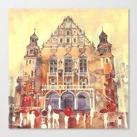 takmaj Canvas Prints featuring Poznań by takmaj