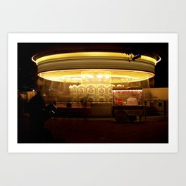 London Carrousel Art Print