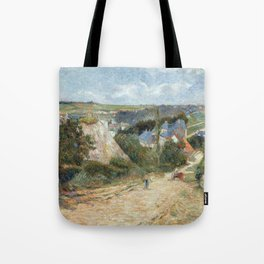 Entrance to the Village of Osny by Paul Gauguin Tote Bag
