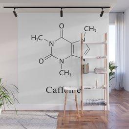 Caffeine Chemistry Wall Mural