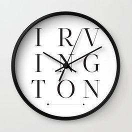 Irvington Wall Clock
