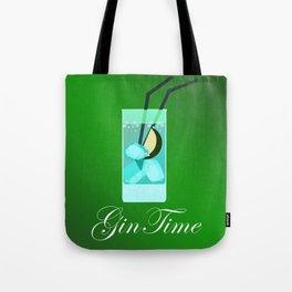 Gin Time Tote Bag