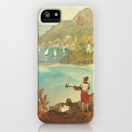 Provincial Polynesia iPhone Case