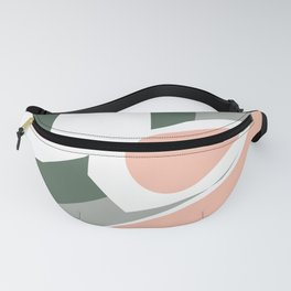 Modern Art Seaside D Fanny Pack