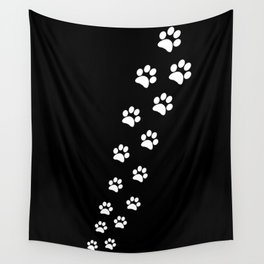 Cat Paws Wall Tapestry
