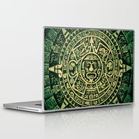 calendar Laptop & iPad Skins featuring Mayan Calendar 2012 by Bob Pestana