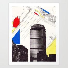The Pru Art Print