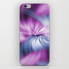 Purple Abstract iPhone & iPod Skin
