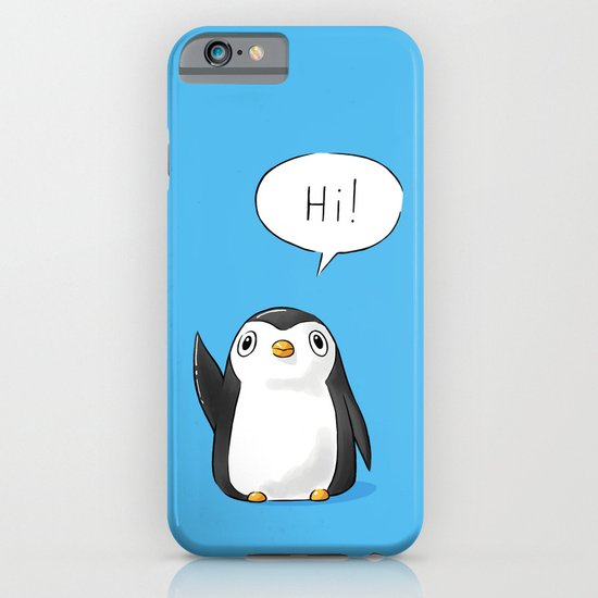 Hi Penguin iPhone & iPod Case