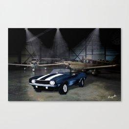 camaro ss Canvas Print