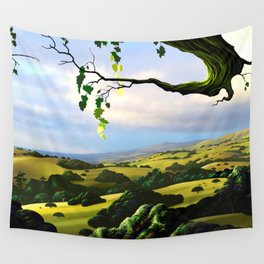 Into The Valley Wall Tapestry