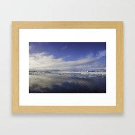 Jokulsarlon Lagoon Beach 11 Framed Art Print