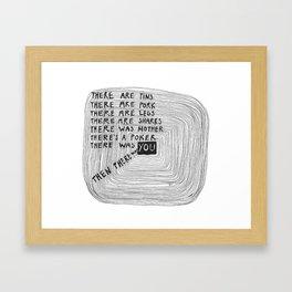 le m be 014 Framed Art Print