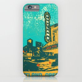 THE ROSE CITY iPhone Case