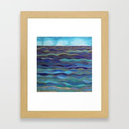 In Calm Waters Framed Art Print