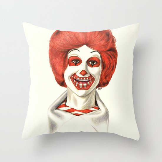 Dia De Los McMuertos Throw Pillow