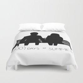 (500) Days of Summer Duvet Cover