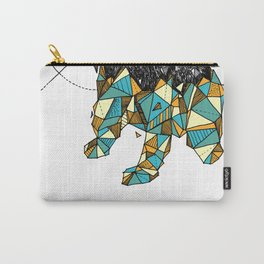 Bear geometric Carry-All Pouch