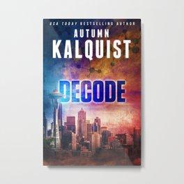 Decode in Downtown Seattle Metal Print