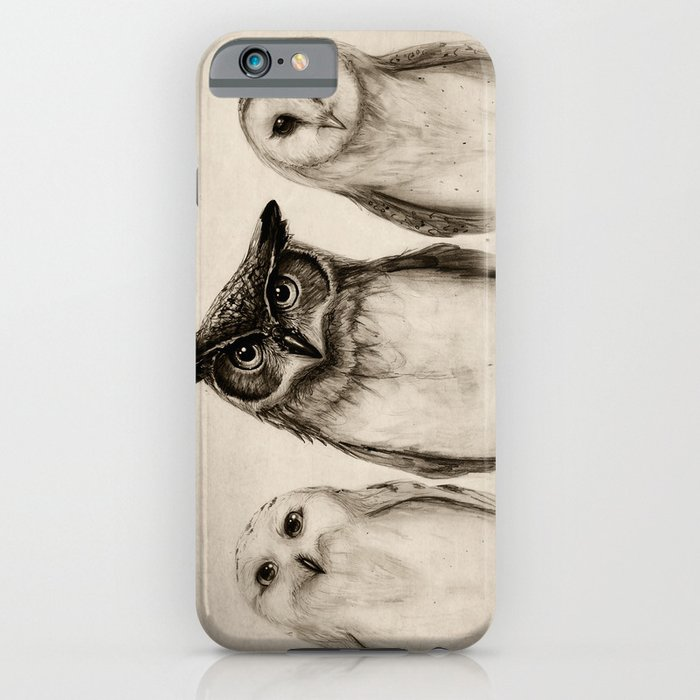 the owl's 3 iphone case