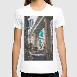 Hong Kong Street Bridge T-shirt