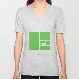 Design Principle FOUR - Proportion Unisex V-Neck
