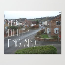 Merry Little England Canvas Print
