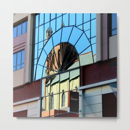 My Favorite Church Window Metal Print