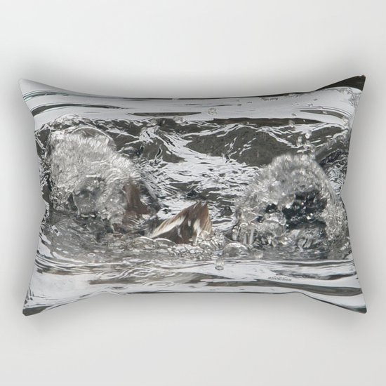 TEXTURES -- Troubled Waters Rectangular Pillow