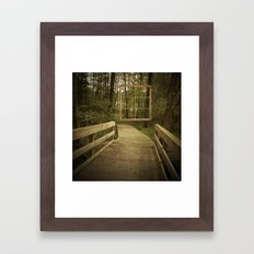 Room with a view. No. 2 Framed Art Print