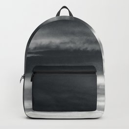 BLACK & WHITE TOUCHING #2 #abstract #decor #art #society6 Backpack