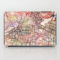mexico iPad Cases featuring Mexico by MapMapMaps.Watercolors