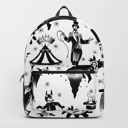 Vintage Halloween Circus Backpack