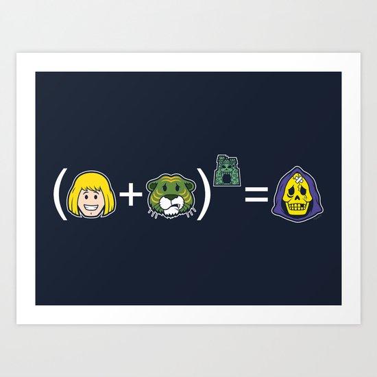 He-Math Art Print