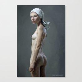 The Treserras girl Canvas Print