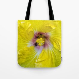 Yellow Hibiscus 17 5799 Tote Bag