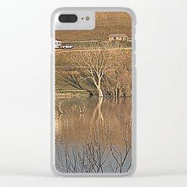 17ne011 Clear iPhone Case