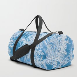 frost crystals Duffle Bag