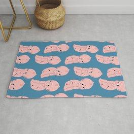 cry baby kewpie pattern Rug