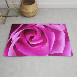 Fuschia Rose Rug