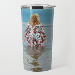 Woman in the Water Travel Mug