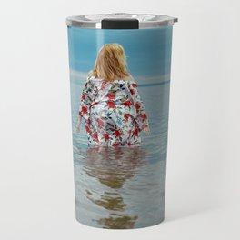 Woman in the Water Travel Mug