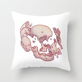 Brisé Throw Pillow