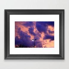 clouds(still) Framed Art Print